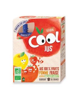 Cool Jus - Pomme de France Fraise Acérola