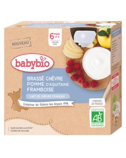 Brassé au Lait de Chèvre français - Pomme d'Aquitaine Framboise