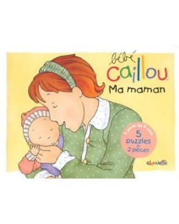 Livre puzzle Bébé Caillou : Ma maman
