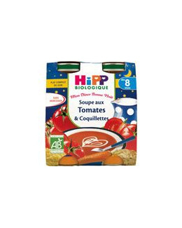 Soupe aux tomates et coquillettes 20 cl dès 8 mois