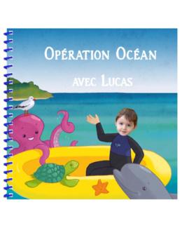 Livre personnalisé pour enfant : Opération Océan