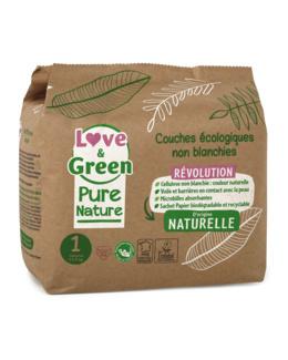 Couches écologiques Love & Green Pure Nature
