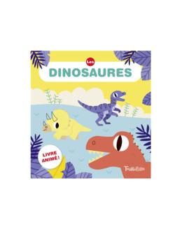 Livre Les dinosaures animousse