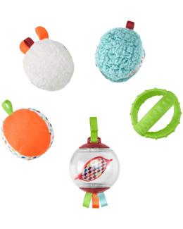 Cinq boules sensorielles