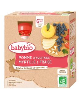 Pomme d'Aquitaine Myrtille Fraise