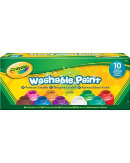 Pots de peinture lavable (x10)