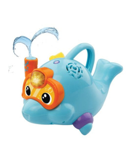 Aldo le dauphin à jets d'eau