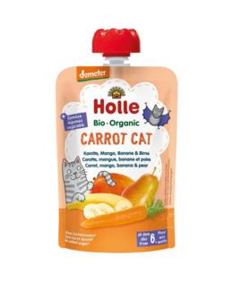 Gourde Carrot Cat - carotte, mangue, banane et poire