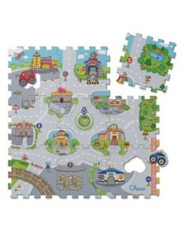 Tapis puzzle city