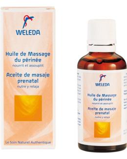 Huile de massage périnée