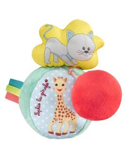 Balle vibrante et sonore Sophie la girafe