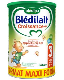 Lait Blédilait Croissance +)
