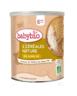 3 Céréales Nature, riz, blé, avoine