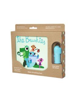 Coffret livre et brossette - The Brushies