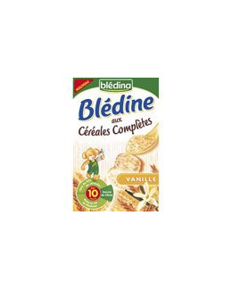 BLEDINE aux céréales complètes vanille 500 g dès 10 mois