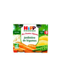 Jardinière de Légumes - 2 pots x 190g - 6 mois