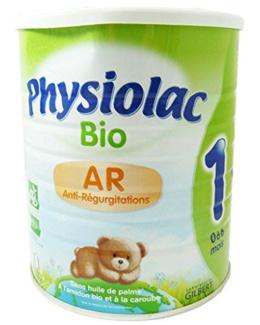 Lait Physiolac Bio AR 1