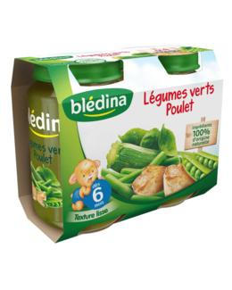 Pot Légumes verts Poulet 2x200g