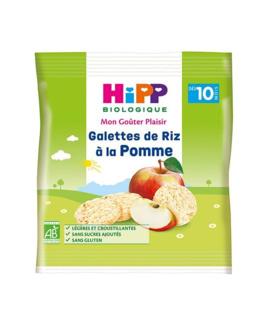 Galettes de Riz à la Pomme - sachet 30g -10 mois