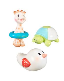 Set de 3 jouets de bain Sophie la girafe