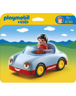 Playmobil 1.2.3 - Voiture cabriolet