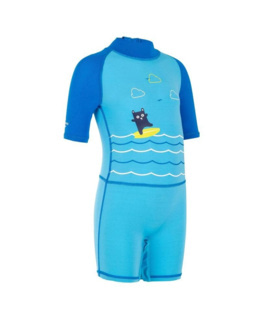 Tee-shirt anti-UV Shorty Surf manches courtes bébé