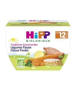 Légumes Patate Douce Poulet - dès 12 mois