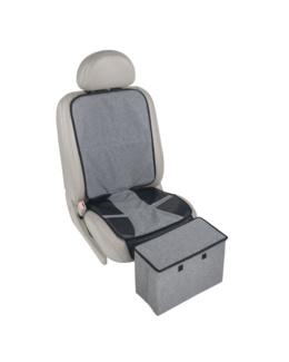 Protège siège de voiture avec rangement