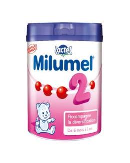 Lait Milumel 2ème âge 900 g