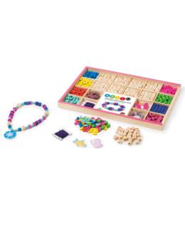 Coffret 200 perles en bois