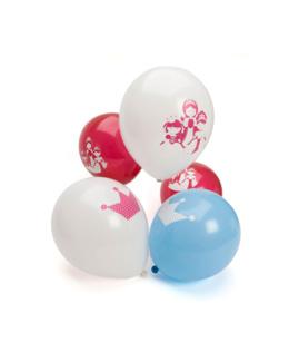 12 ballons Princesses