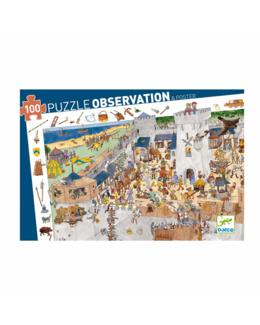 Puzzle Château fort 100 pièces