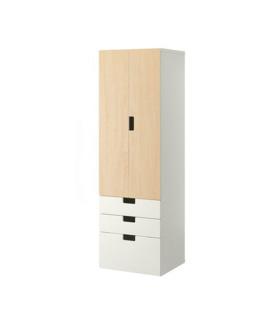 Combinaison de rangements avec portes et tiroirs Stuva