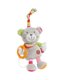 Peluche musicale holiday ours