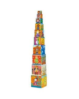 La tour de cubes