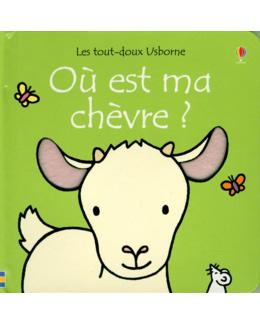 Livre Les tout-doux : Où est ma chèvre ?