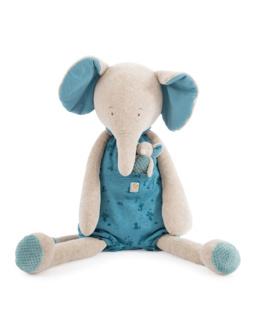 Peluche bébé éléphant géant