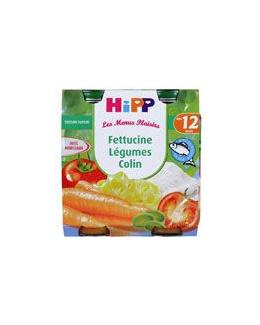 Fettucine Légumes Colin - 2 pots x 250g - 12 mois