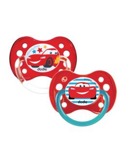 Sucette anatomique +6 mois DUO Disney Cars