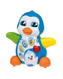 Maman Pingouin et bébé Picou