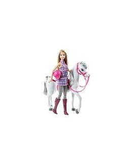 Poupée Barbie - Barbie et son cheval