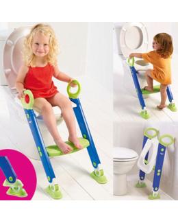 Réducteur de toilettes avec échelle
