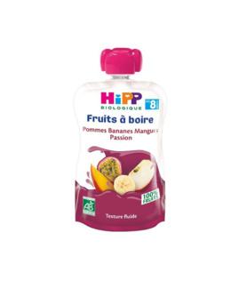 Gourde Pommes Bananes Mangues Passion - dès 8 mois