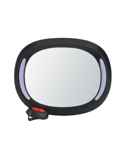 Miroir de voiture avec lumière LED