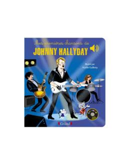 Livre Mes premières chansons de Johnny Hallyday