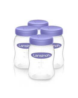 Pots de conservation du lait maternel
