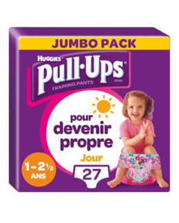 Pull-Ups Culottes Jour Fille (8-15 kg)