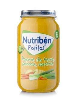 Mon premier Potito® Pommes de terre Poireaux Carottes