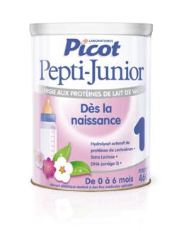 Lait Pepti Junior 1er âge