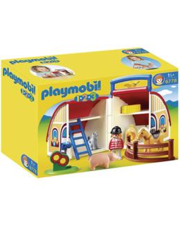 Playmobil 1.2.3 - Ferme transportable